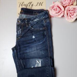 [Silver] Western Glove Works - Eden Bootcut Jeans